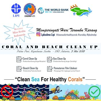 Coral and Beach Clean Up